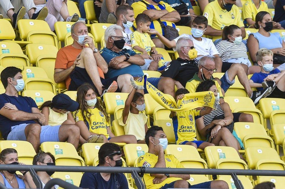 Partido UD Las Palmas - UD Ibiza (1-1)