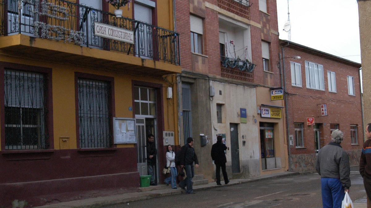 Ayuntamiento de Morales del Rey. / E. P.