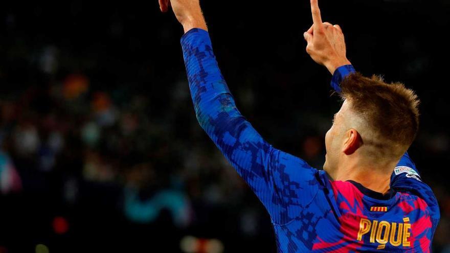 Piqué dona un triomf vital al Barça