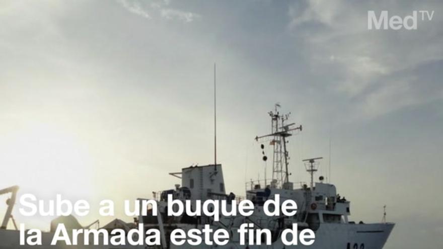 ¿Quieres subir a un buque de la Armada? Este fin de semana puedes hacerlo en Castellón