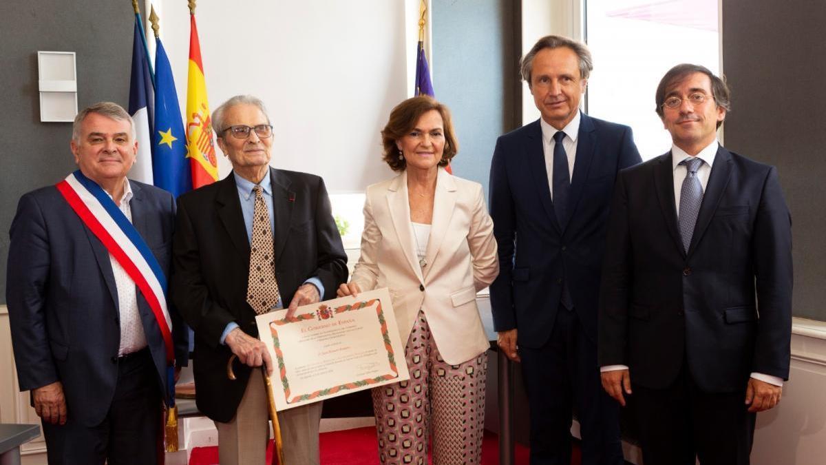 Homenaje en Francia al cordobés Juan Romero, último español superviviente de Mauthausen