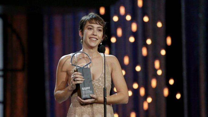 La catalana Greta Fernández guanya 'ex aequo' la Concha de Plata a Sant Sebastià