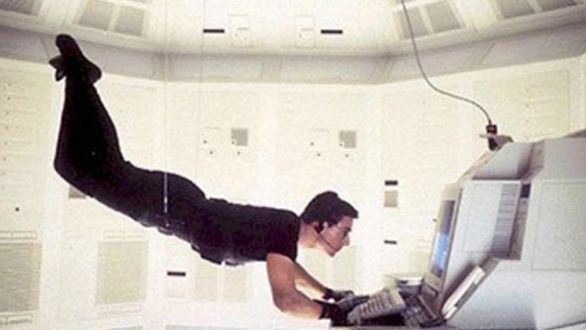 Una imagen de Tom Cruise, en 'Misión imposible'.