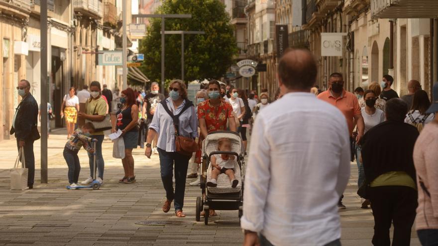 La quinta ola da muestras de remitir en Galicia: descienden los ingresos y los contagios