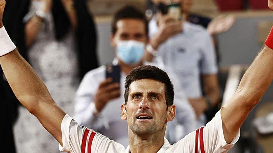 """Djokovic: """"Mi mejor partido en Roland Garros"""""""