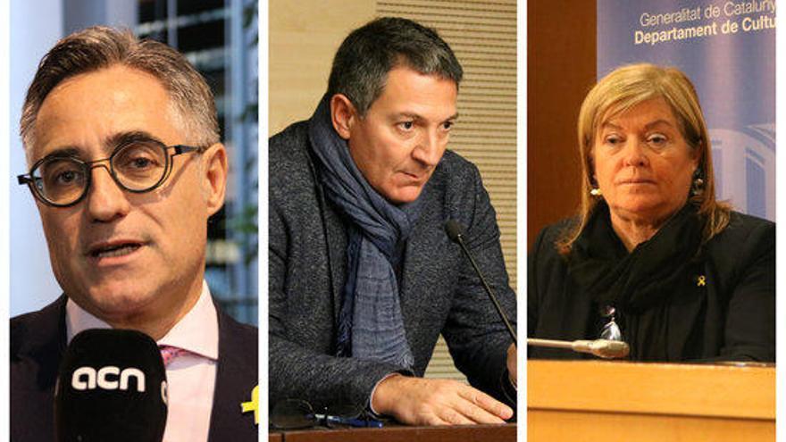 Torra escull els tres nous membres del govern