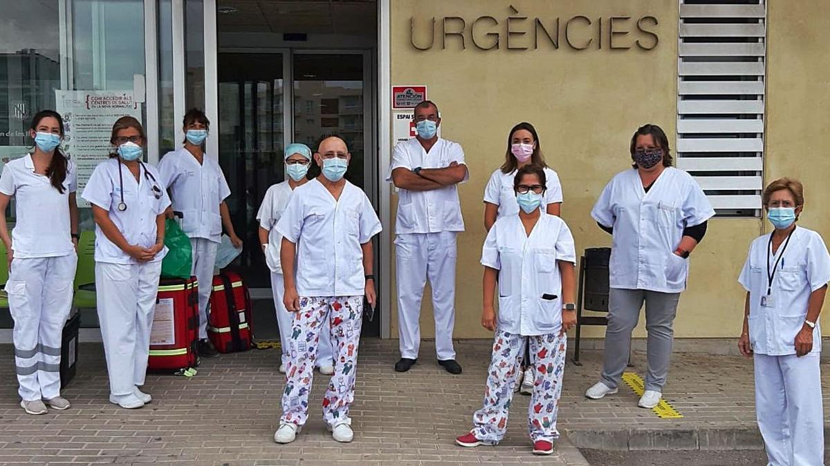 Enfermeros de urgencias se unen para reclamar el pago de la carrera profesional.