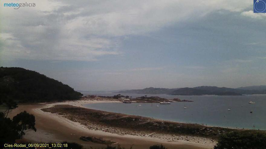 Noche tropical y día bochornoso antes de la vuelta de las lluvias a Galicia