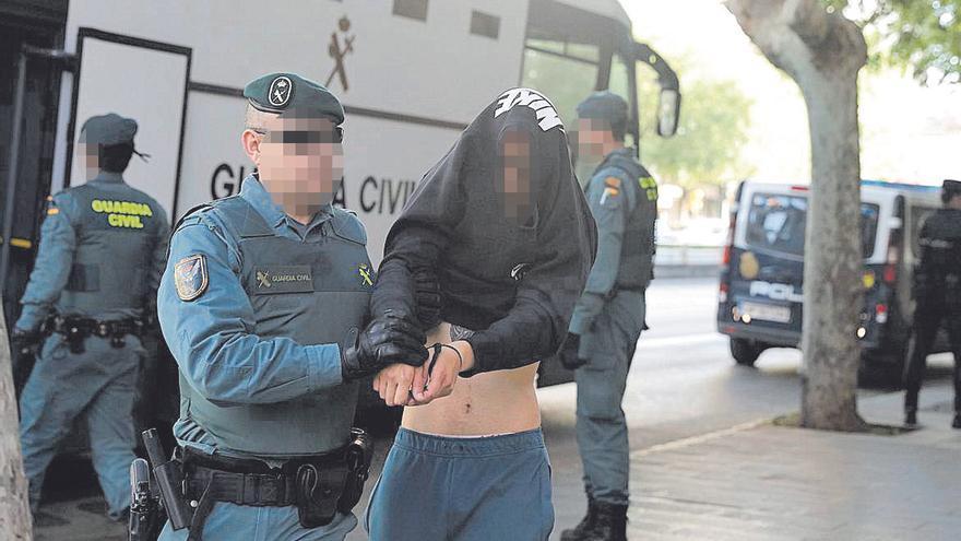 La Audiencia de Palma se blinda ante el mayor juicio de drogas con 72 acusados