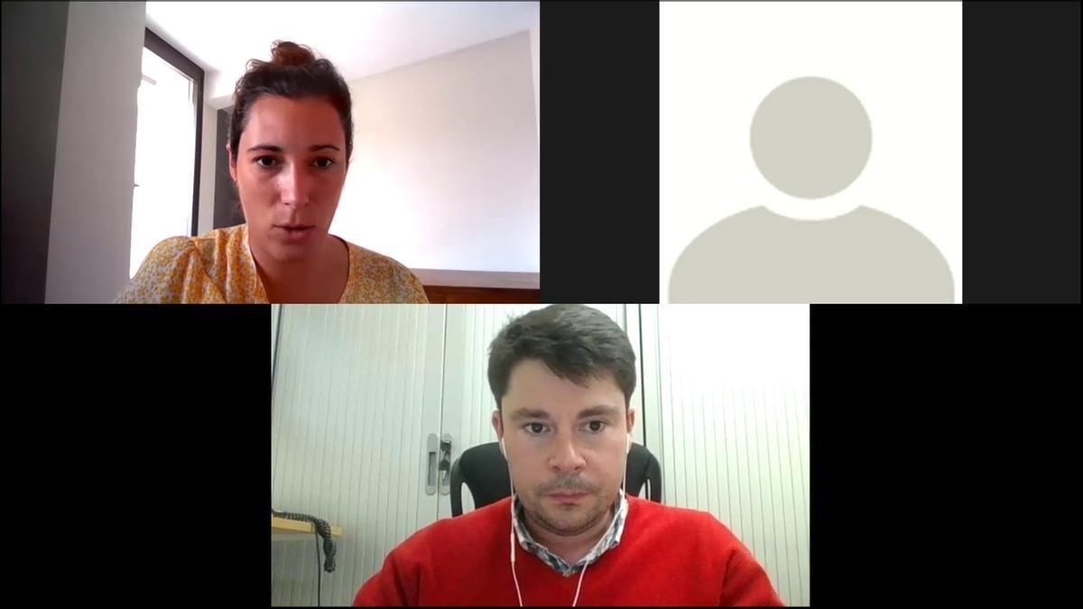 La sessió formativa sobre els ajuts Next Generation s'ha fet online