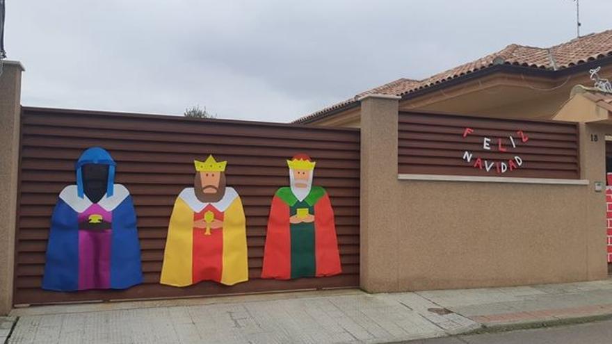 Zamora | Torres de Carrizal se viste de Navidad