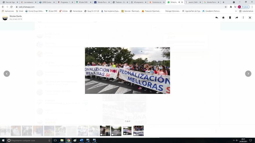 Monte Porreiro se moviliza contra la peatonalización