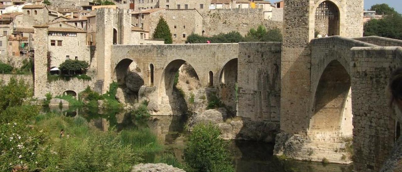 Besalú, el segon poble d'interior amb més encant d'Espanya