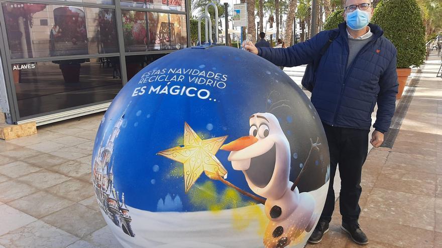 Iglús tematizados de Disney en Alicante para que los niños aprendan a reciclar