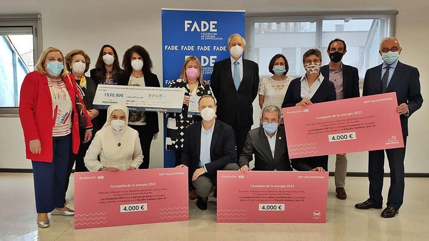 FADE recauda más de 11.000 euros en el Desafío Virtual Solidario