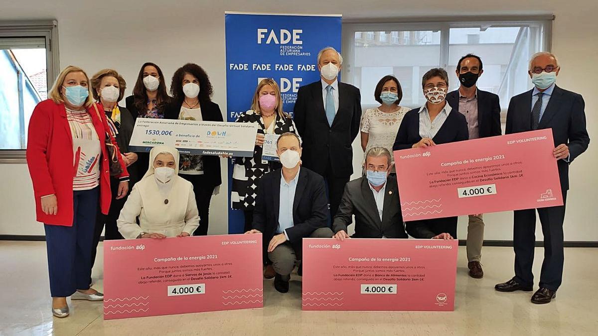 FADE recauda más de 11.000 euros en el Desafío Virtual Solidario  |