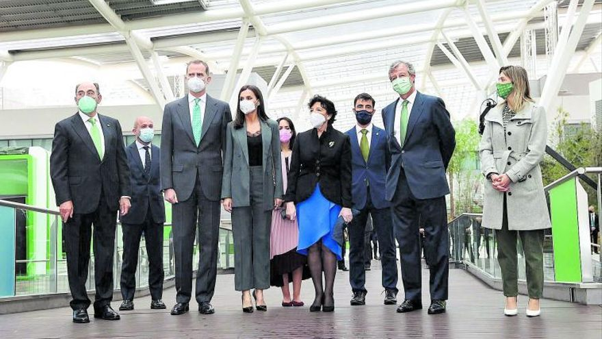 Los Reyes abren el Campus de Iberdrola, referente de la transición energética