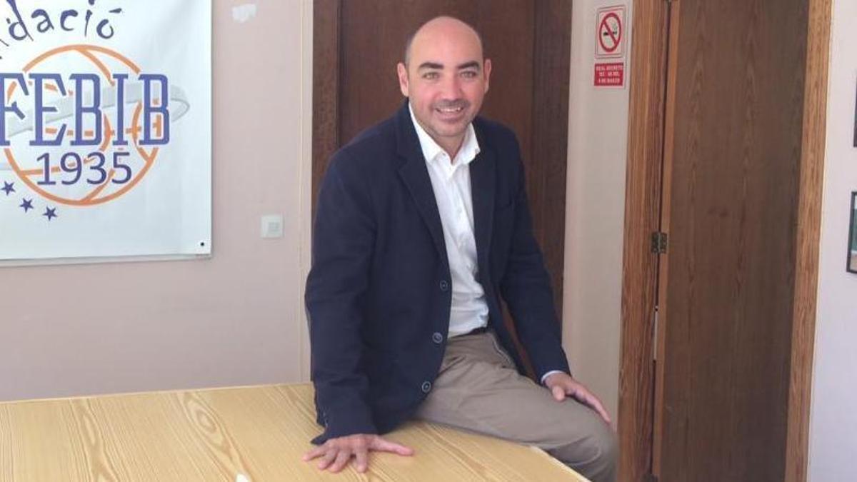 Juanjo Talens opta a la reelección como presidente de la FBIB.
