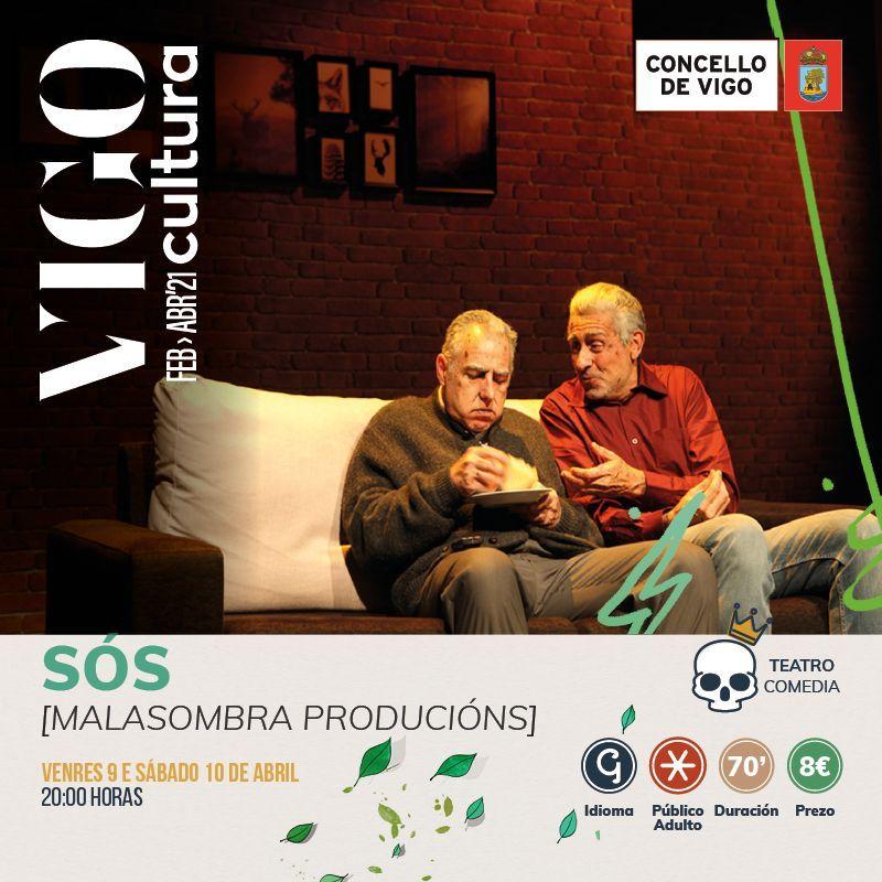Programación de VigoCultura 2021 en abril