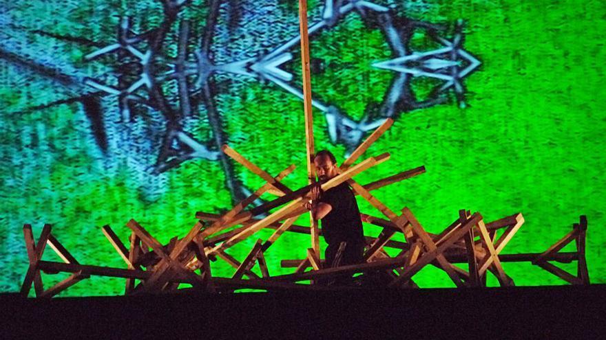 """""""El último día de invierno"""", un espectáculo de danza dentro de un paisaje sonoro para el Teatro Jovellanos"""