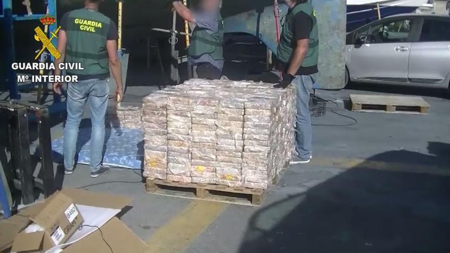 Cuatro detenidos en Mallorca en una nueva fase por la incautación de 600 kilos de cocaína
