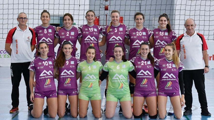 El primer equipo femenino del Voley ciutat Cide juega en la Superliga Femenina 2