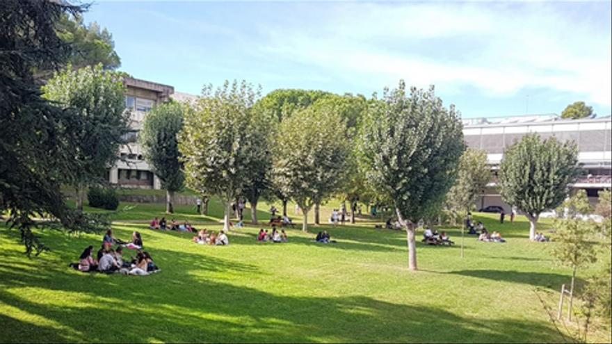 Milers de joves s'apleguen en un macrobotellot al campus de la Universitat Autònoma de Barcelona