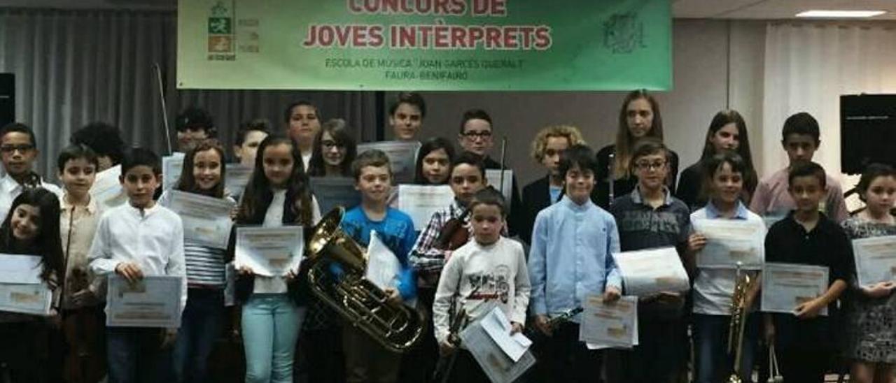86 músicos compiten en Faura
