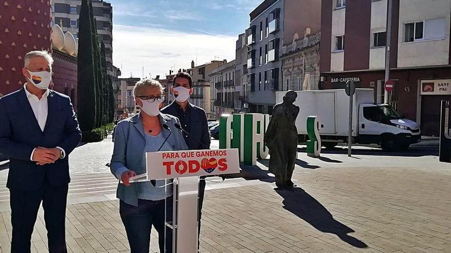 Anna Grau (Cs): «Fa molta tristor veure com està Figueres»