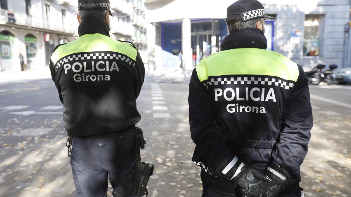 La Policia Municipal de Girona