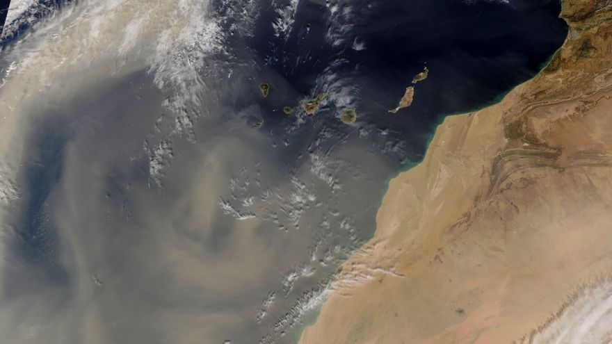 Castillay León alerta del aumento de partículas de polvo procedente de África
