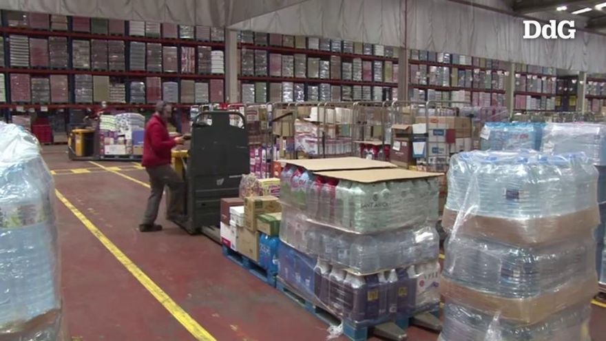 Vídeo: GM Food dobla la mercaderia que distribueix