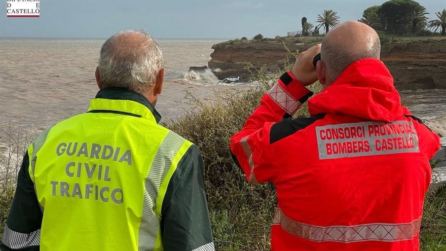 Resuelto el misterio del coche que la riada arrastró al mar en Vinaròs