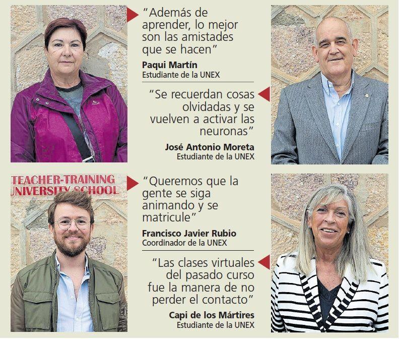 Alumnos de la UNEX de Zamora