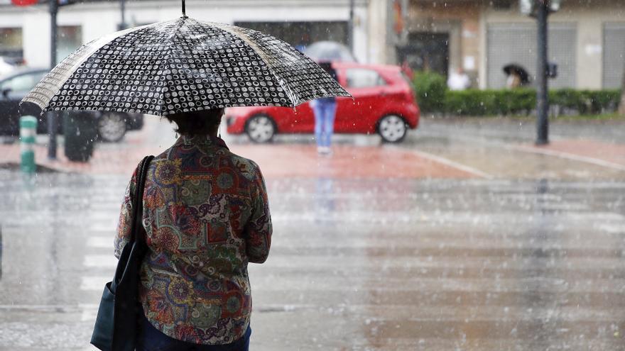Alerta naranja en toda Valencia por lluvias muy fuertes y tormentas con granizo