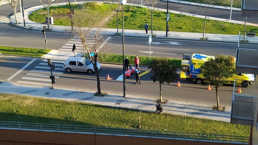 Una mujer atropellada en la carretera de La Aldehuela, en Zamora