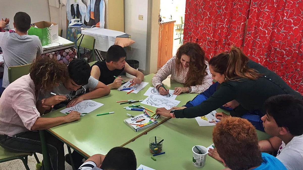 Un aula enclave de Canarias. | | E.D.