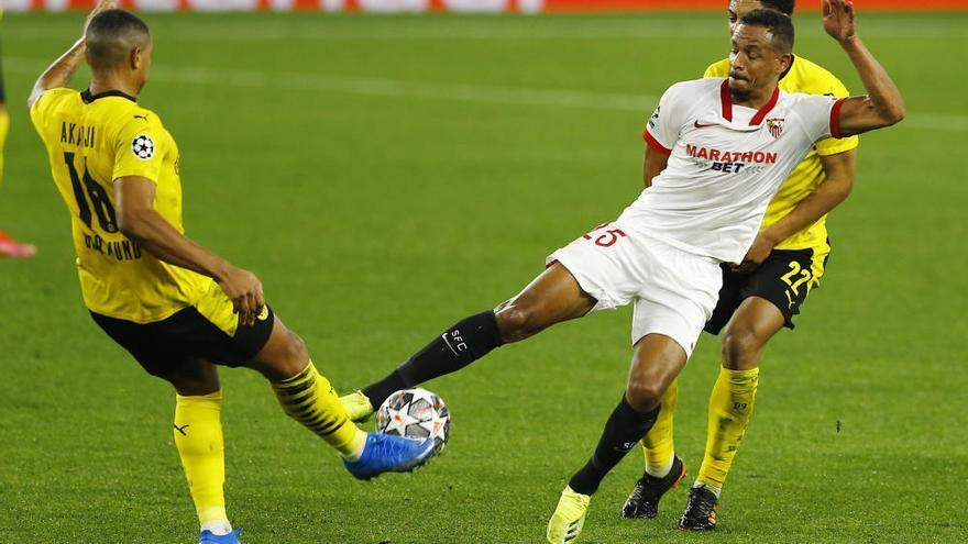 El Dortmund remonta con doblete de Haaland y saca ventaja en Sevilla