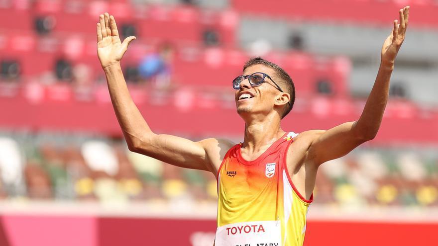 Los atletas Kim López y Yassine Ouhdadi logran sendos oros en los Juegos Paralímpicos