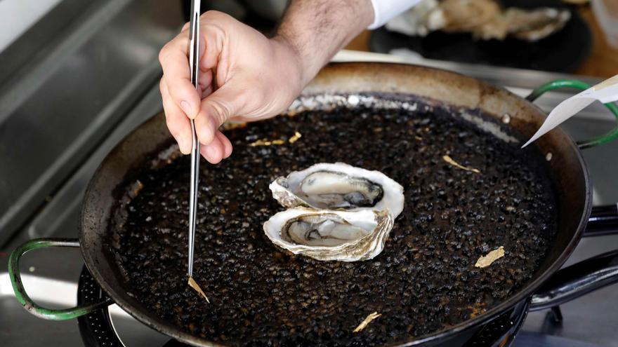 Un chef patenta un arroz con oro de 24 quilates