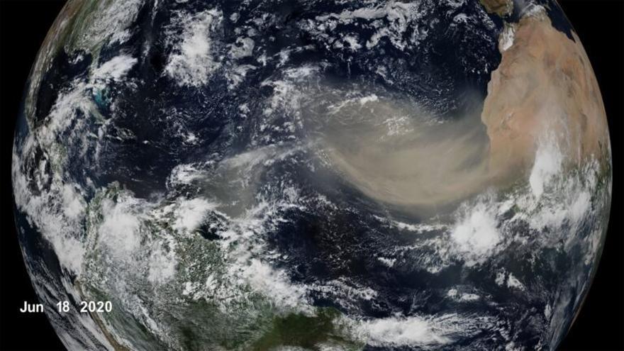 Perdemos el polvo sahariano que regula el ecosistema terrestre