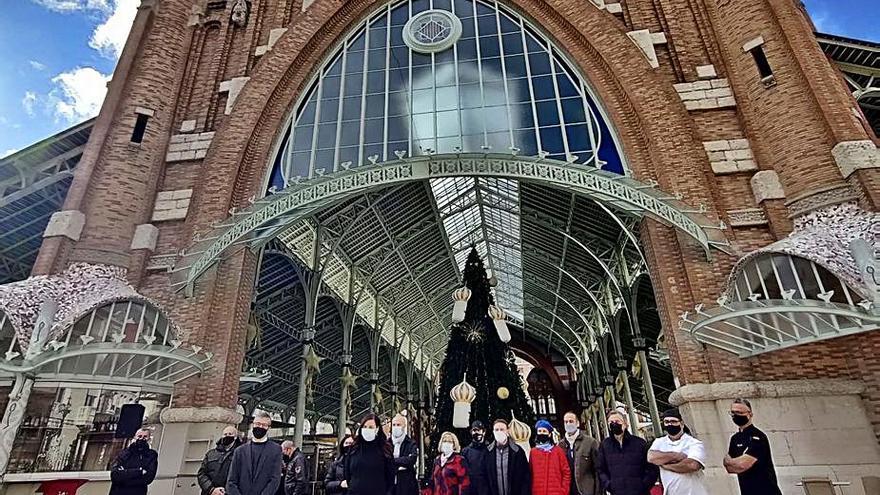 Concluye la reforma de la vidriera del Mercado de Colón