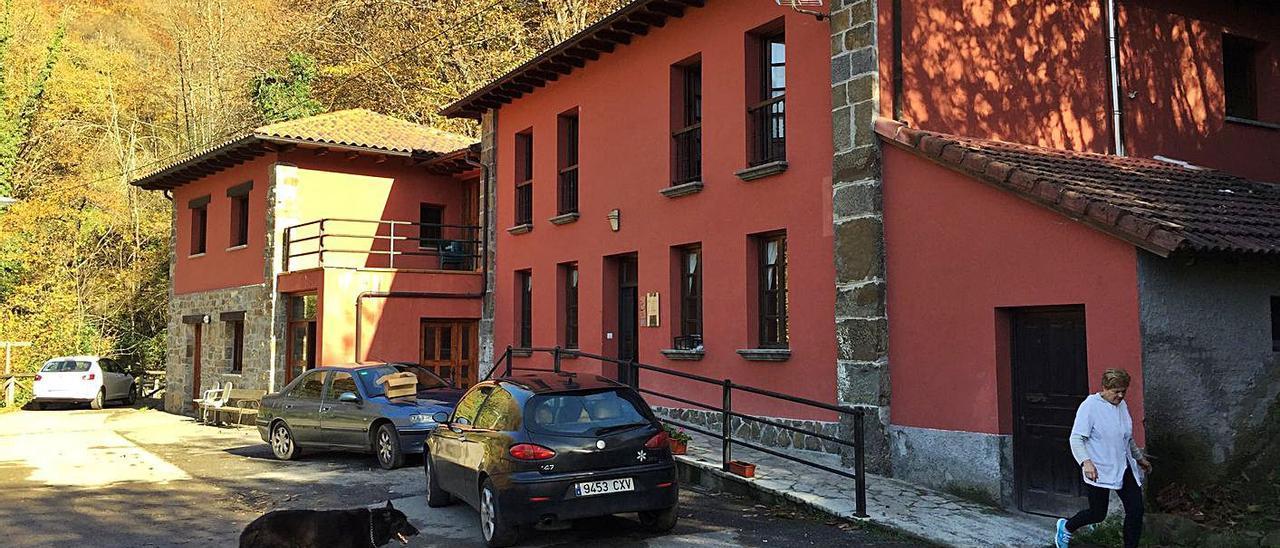 La residencia de mayores La Parada, en San Xuan de Beleño. | LNE