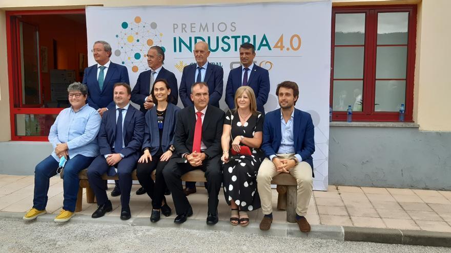 """Las empresas """"ejemplo de lo que Asturias necesita"""" reciben los premios Industria 4.0"""