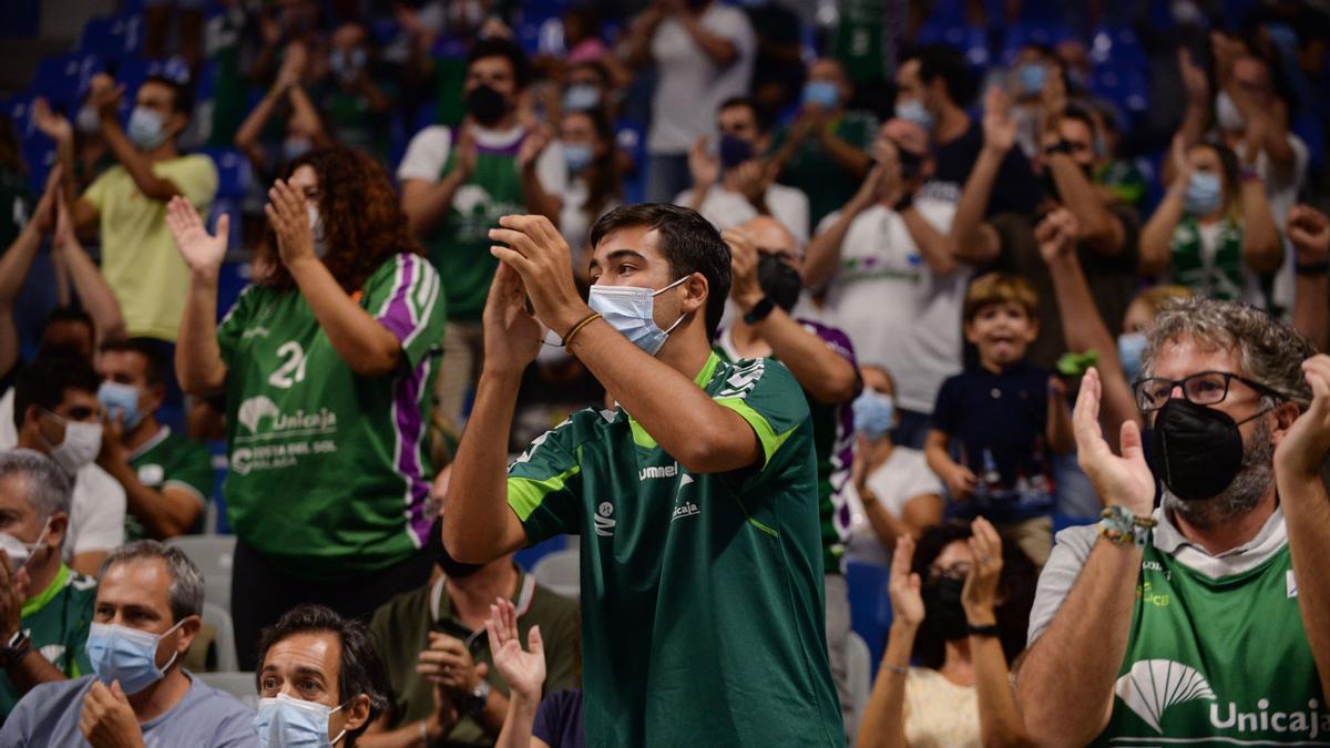 Las imágenes del Unicaja - Herbalife Gran Canaria de la Liga Endesa en el Martín Carpena.