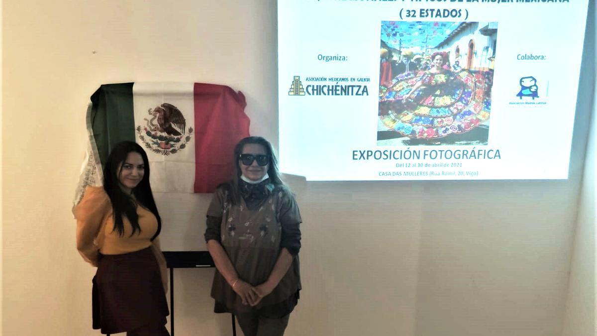 Presentación de la exposición en la Casa da Muller