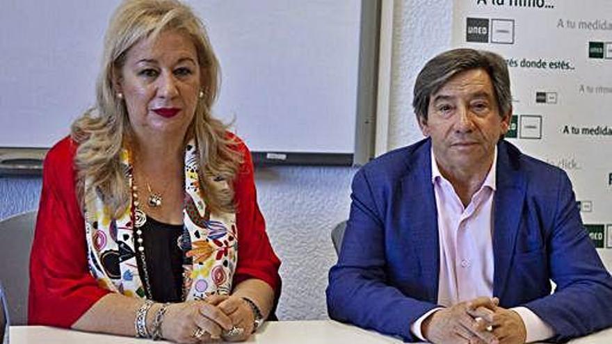 Marisol Lozano y Juan Andrés Blanco.