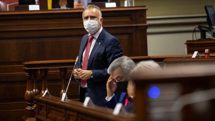 Pleno del Parlamento de Canarias (8/6/21)
