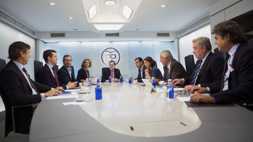 Rajoy acusa els independentistes de dividir la societat catalana