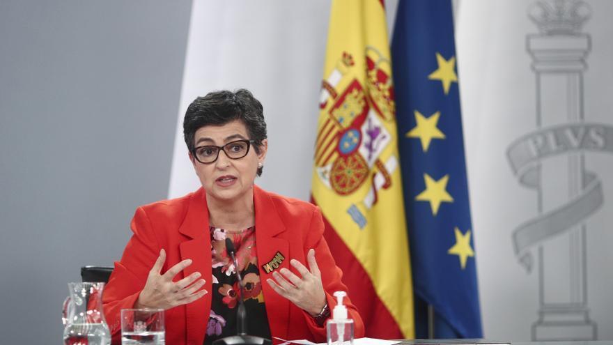 González Laya asegura que España devolverá a los inmigrantes llegados a Ceuta